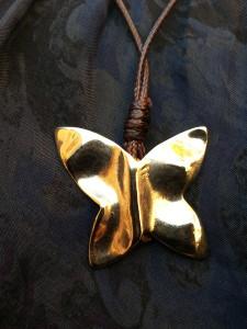 foto mariposa dorada